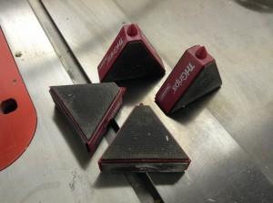 Milescraft tri grips non-slip work supports