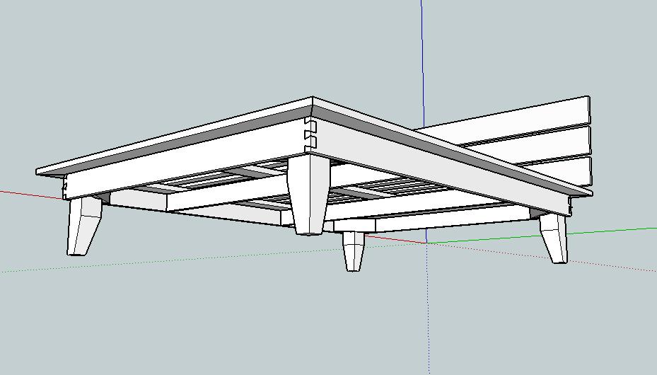 Building Platform Bed Frame King Size