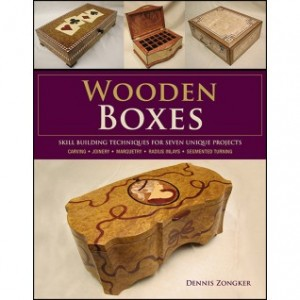 Wooden box book cover