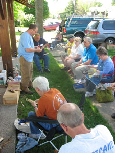 wooden spoon makers at Spoon Gathering