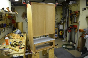 bathroom cabinet construction