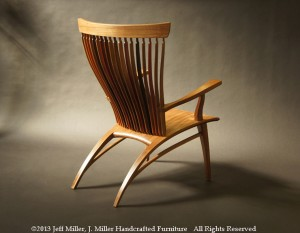 Jeff Miller's Toccata Chair