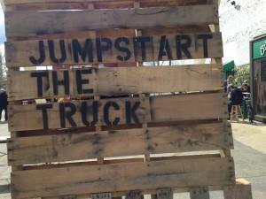Jumpstart the truck