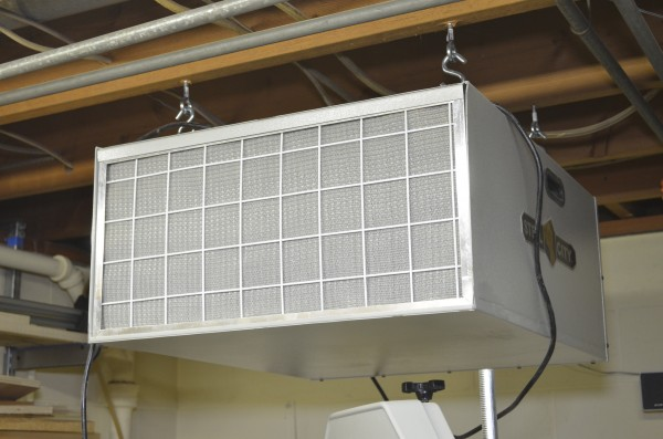 overhead air cleaner