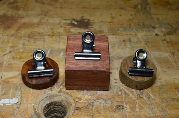 scrap wood magnet clips