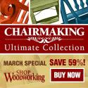 Shop Woodworking - Chairmaking Ultimate Collection