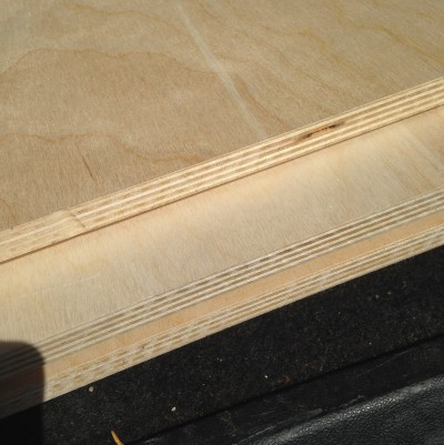 High quality plywood equal better components