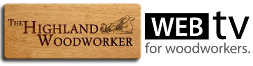the highland woodworker logo
