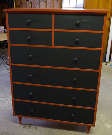 8 drawer Tall dresser