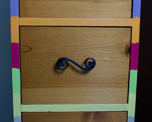 First inset drawers
