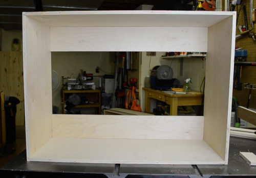 Simple plywood box construction