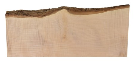 Curly western maple live edge board from Bell Forest Products