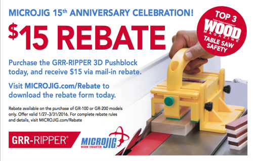 Click here to visit Microjig.com to download the mail-in rebate form