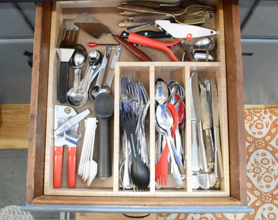 new utensil organizer